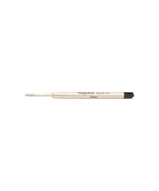 Rec. bolígrafo inoxcrom negro