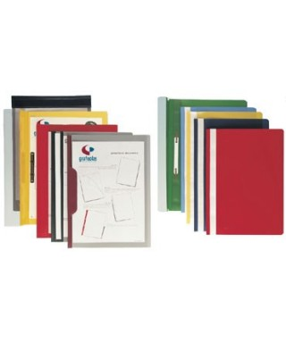 Dossier fastener A-4 negro paquete de 25 uds - 05021010