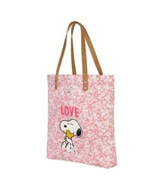 Bolso con asas shopper Snoopy Cath Kinds