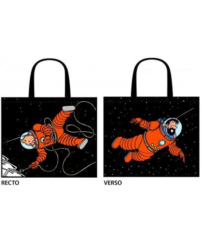 Bolsa semi-impermeable Tintin espacio