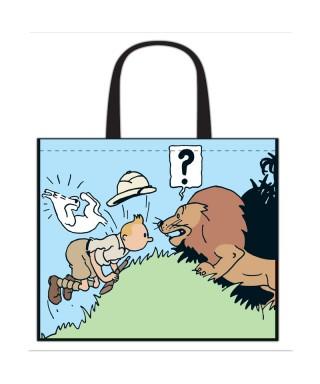 Bolsa semi-impermeable Tintin congo