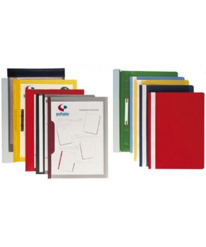 Dossier fastener A4 verde paquete 25 uds 05021020