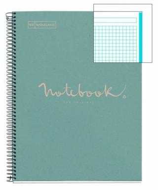 Cuaderno A4 80h ecoazul MR
