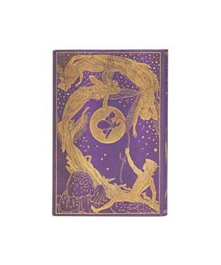 Cuaderno liso Hoda Violeta Mini