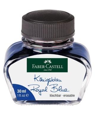 Tintero de 30ml azul FABER-CASTELL