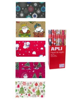 Papel de regalo navideno APLI