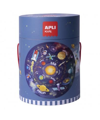 Puzzle circular Sistema Solar - APLI