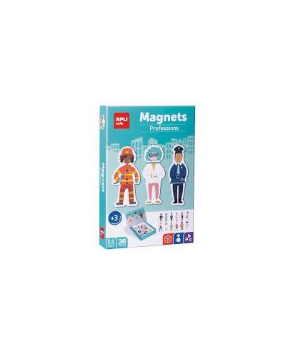 Puzzle magnetico- profesiones APLI