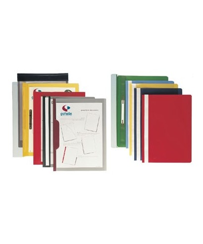 Dossier fastener folio rojo- 05031051