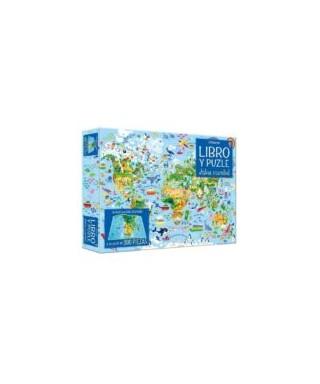 Atlas mundial LIBRO Y PUZLE