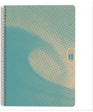 Cuaderno Escolofi green turquesa