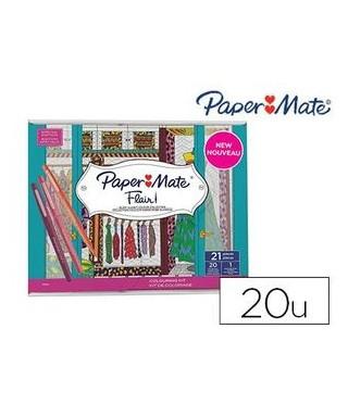 Paper mate kit 20 rotuladores - block di