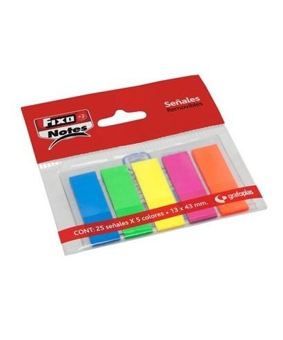 Marcador adhesivo colores surtidos- GRAFOPLAS - 65006180
