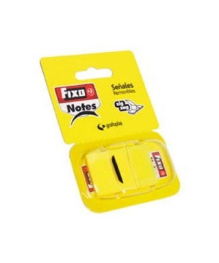 Dispensador banderitas amarillo. FIXO - 65006660 / 319464