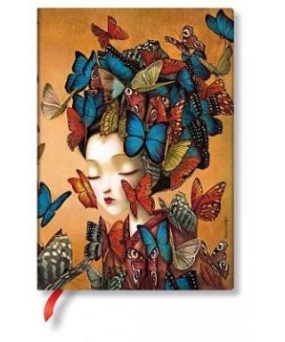 Libreta Paperblanks Midi Madama Butterfl