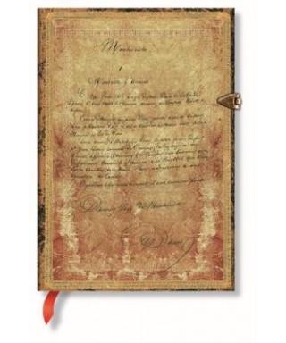 Paperblanks Dumas 150th Anniversary MID