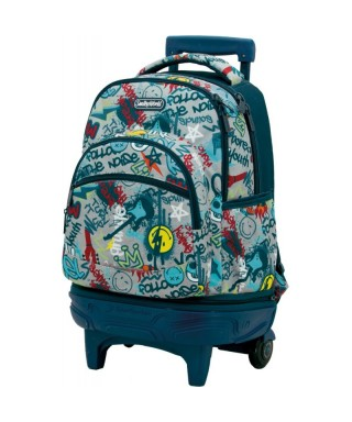 Mochila con carro Tandem Smiley Rebel