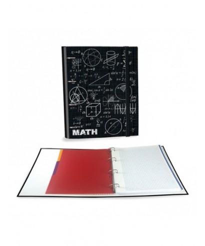 Ringbook A4 120h Maths negro