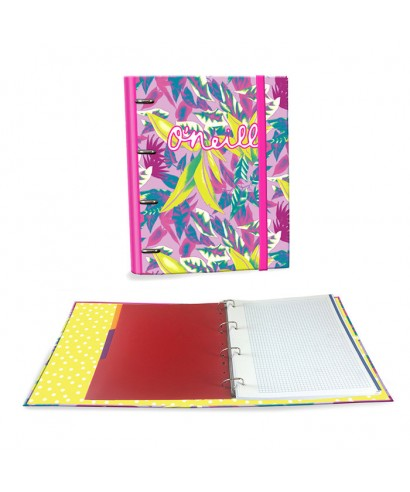 Ringbook A4 120h ONeill Girls rosa