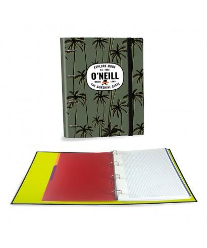 Ringbook A4 120h ONeill Boys verde
