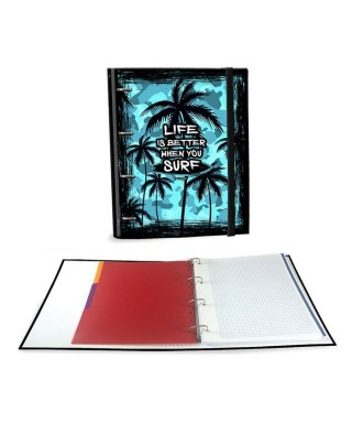 Ringbook A4 120h Palm Surf