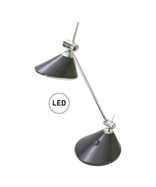 Lampara LED 6 W. Negro SENFORT