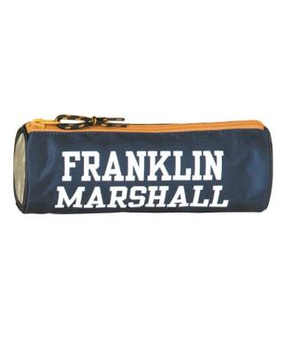 Portatodo redondo Franklin azul