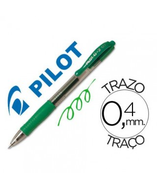Boligrafo G-2 verde- PILOT -
