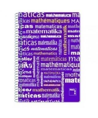 Cuaderno Pacsa Matematicas F- 4x4 PP