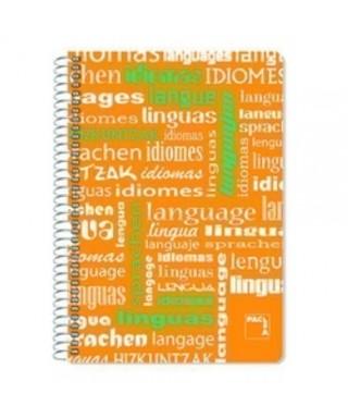 Cuaderno Pacsa Idiomas F- 4x4 PP
