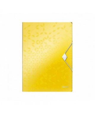Carpeta 3 solapas Amarillo WOW