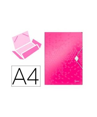 Portafirmas Exacompta carton rosa