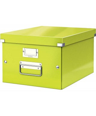 Caja archivo Leitz verde 28-1x37x20