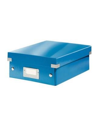 Caja archivo Leitz azul 28x10x37
