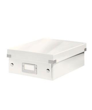 Caja archivo Leitz blanco 28x10x37