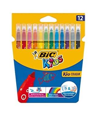 Caja 24 rotuladores colores surtidos BIC