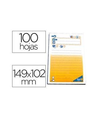 Notas adhesivas Post-it mensaje telefoni