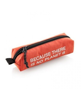 Mini portatodo reciclada naranja Ecoalf