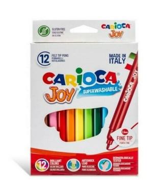 Caja 12 rotuladores colores surtidos Car