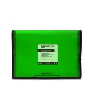 Carpeta fuelle polipropileno 13 departamentos- Verde