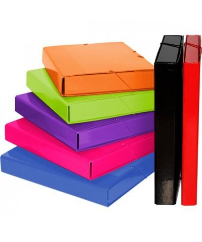 Carpeta lomo 3 cm colores surtidos- 91275399