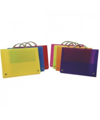 Maletín colorgraf polipropileno malva- 30100554