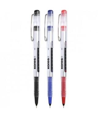 Bolígrafo tinta líquida azul- GRAFOPLAS - 30210730