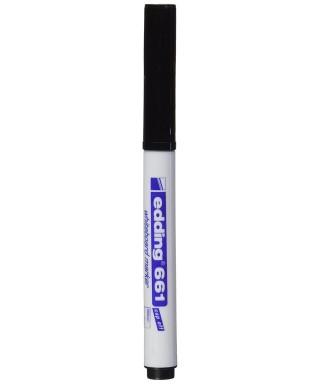 Rotulador pizarra blanca negro- EDDING - 661-001