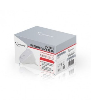 Repetidor WiFi, 300 Mbps, Blanco - WNP-RP-002-W