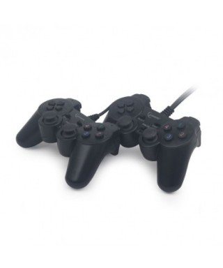 Mando doble Dual gamepad (vibracion) Gembird - JPD-UDV2-01
