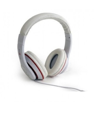 Auriculares GEMBIRD estéreo LAX Blanco - MHS-LAX-W