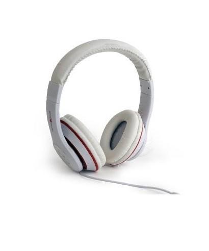 Auriculares GEMBIRD estéreo LAX Blanco - MHS-LAX-W