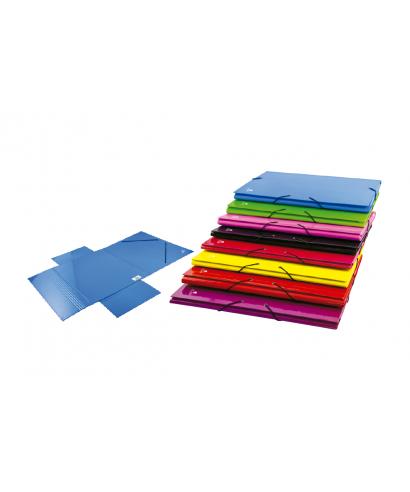 Carpeta solapas folio colores surtidos