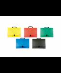 Maletín lomo 5 cm plástico colores surtidos - 1549SU